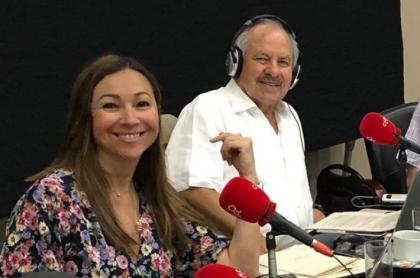 Darcy Quinn y Darío Arizmendi