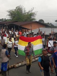 Minga Indígena Cauca