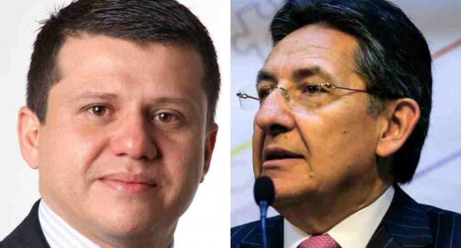 Ñoño Elías y Néstor Humberto Martínez