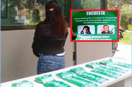 Detenida con panfletos para campaña de Antonio Navarro Wolf