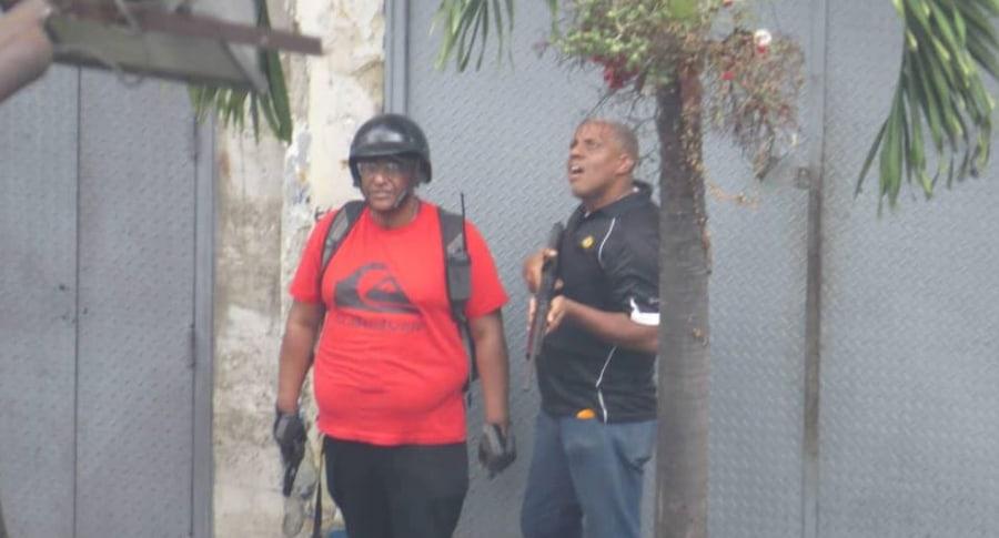 Colectivos armados Venezuela