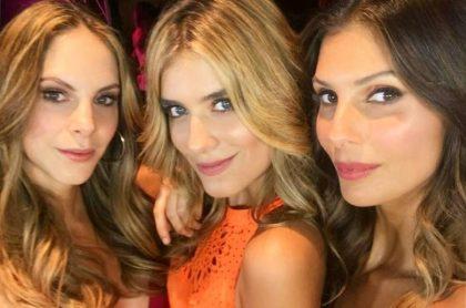 Julieta Piñeres, Laura Tobón y 'la Toya' Montoya, presentadoras y modelos.