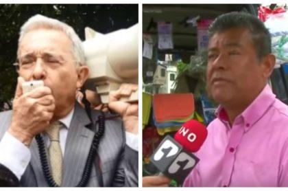 Álvaro Uribe y Nicolás Garcia
