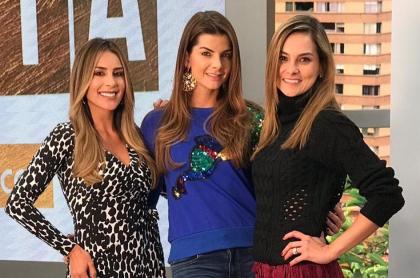 Carolina Soto, Carolina Cruz y Catalina Gómez
