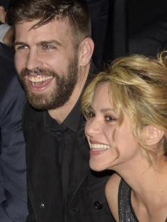 Gerard Piqué, futbolista, y Shakira, cantante.