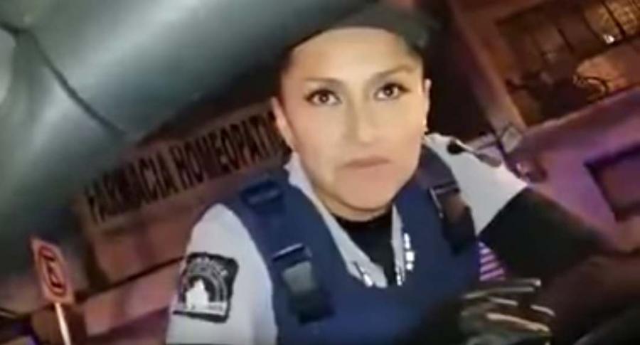 Policía en México.