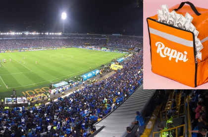 Estadio El Campín y Rappi