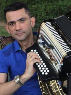 Iván Zuleta, acordeonero.