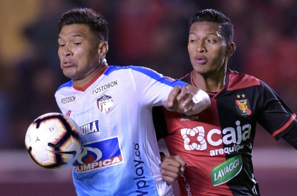 Junior vs. Megar (Teófilo Gutiérrez)
