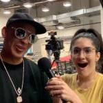 Periodista entrevista a Daddy Yankee.