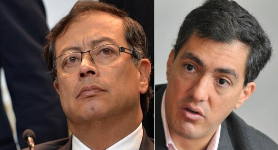 Petro y Juan Ricardo Ortega