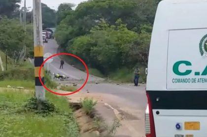 Atentado a Policía en Caquetá