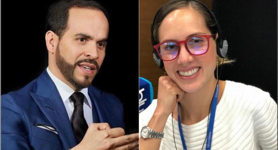 Abelardo de la Espriella y Camila Zuluaga