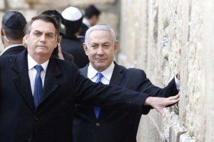 Jair Bolsonaro (Brasil) y Benjamín Netanyahu (Israel)