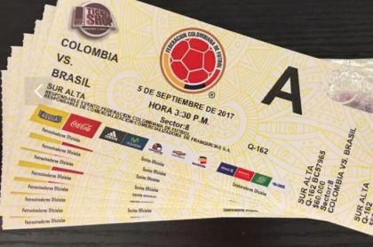 Boletas Colombia-Brasil