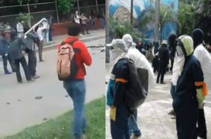 Protestas en la Universidad del Valle