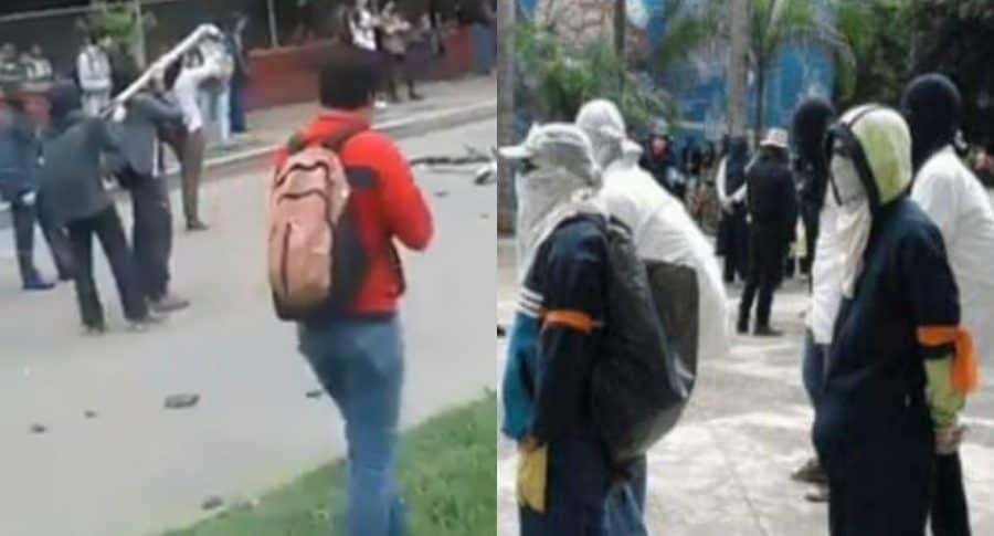 Protestas en la Universidad del Valle