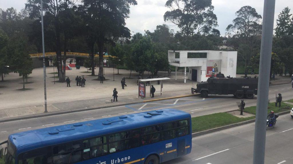Protestas en la Universidad Nacional