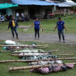 Indígenas muertos durante minga indígena de 2019