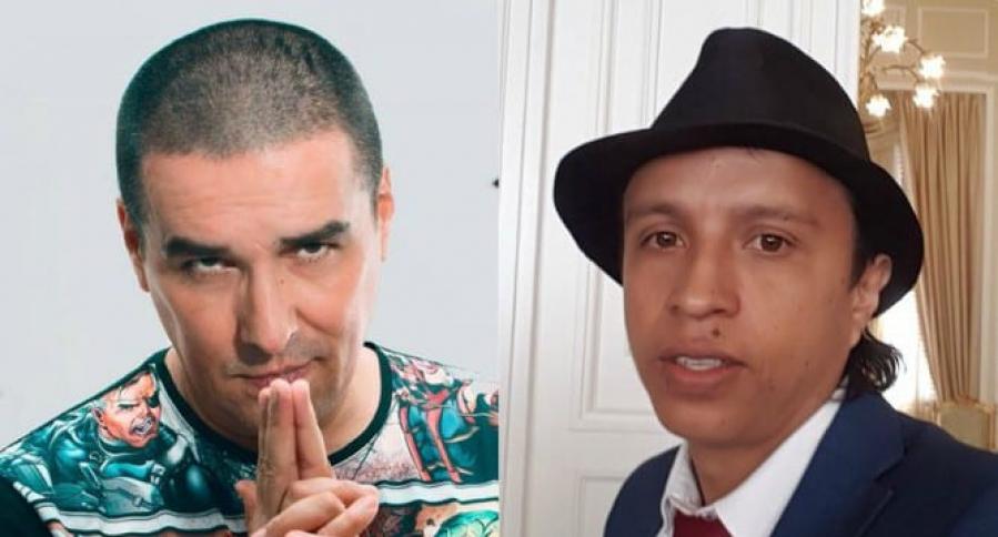 Matador y Jonatan Tamayo, conocido como 'Manguito'