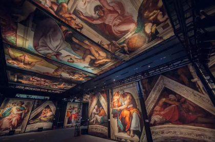 Capilla Sixtina: La exhibición