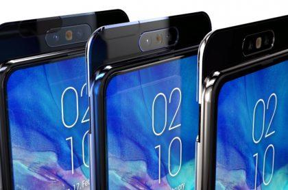 Prototipo del Samsung Galaxy A90