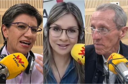 Antonio Navarro, Vicky Dávila y Claudia López