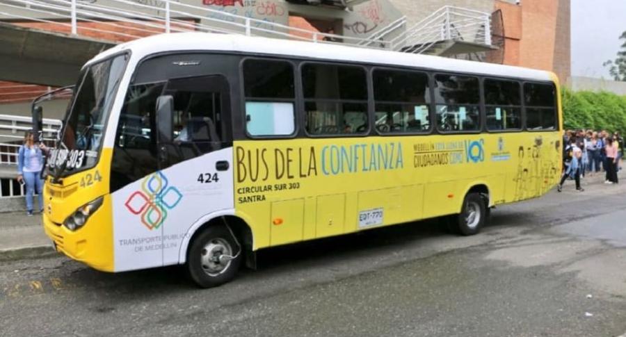 Bus en Medellín