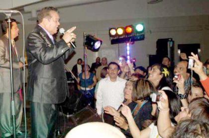 Pastor López concierto