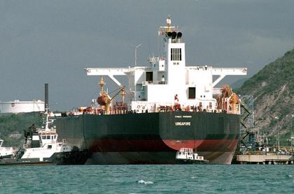 Barco petrolero en Venezuela