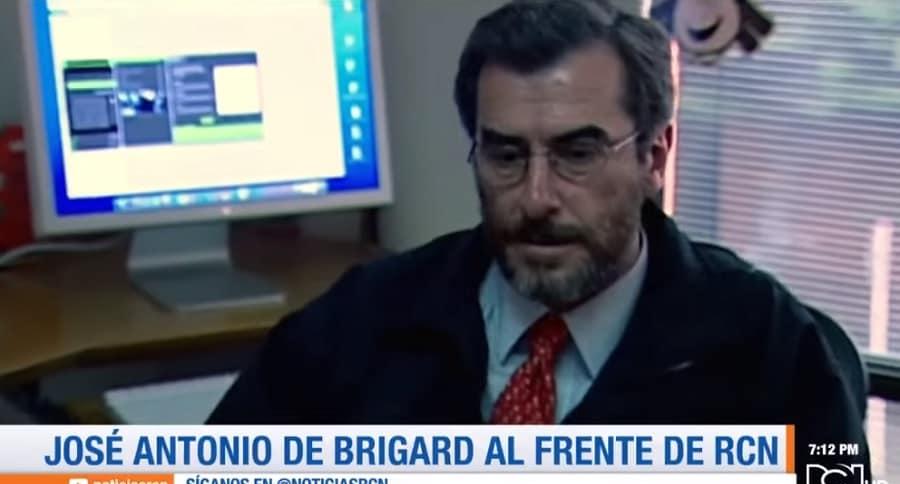 José Antonio de Brigard, presidente de RCN.