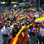 Marchas en Venezuela contra Maduro