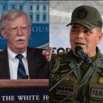 John Bolton y Vladimir Padrino López