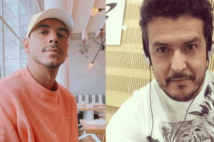 Manuel Medrano y Carlos Montoya
