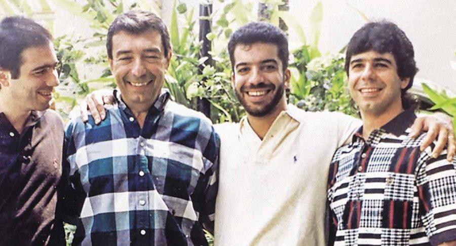 Antonio, Fuad, Arturo y Alex Char,