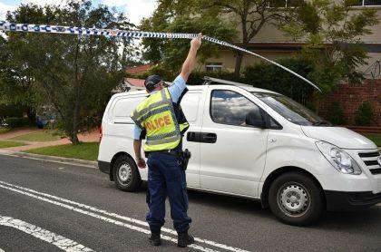 Policía australiano