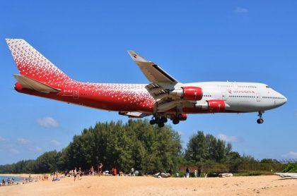 Avión en Phuket