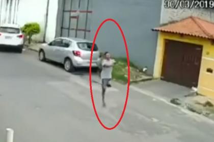 Ladrón con una sola pierna