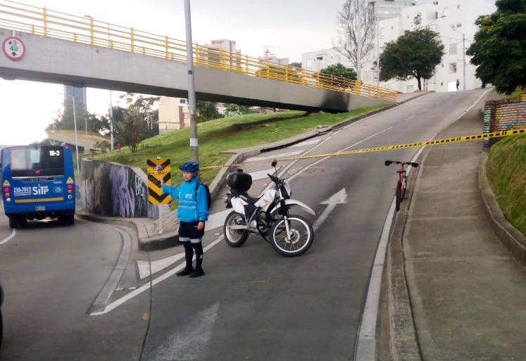Desvíos centro de Bogotá