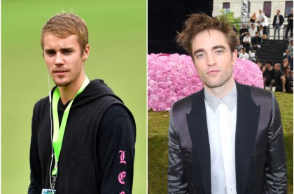 Justin Bieber y Robert Pattinson