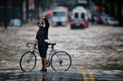 Inundaciones Río de Janeiro