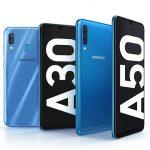 Galaxy A50 y A30