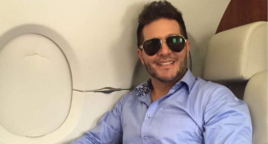 Marcelo Cezán, actor y presentador.