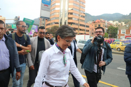 Claudia López Bogotá
