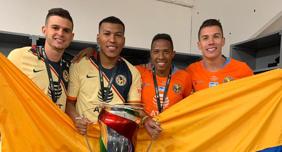 Colombianos América de México