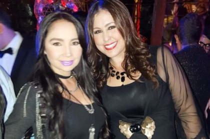Paola Jara y Arelys Henao, cantantes.