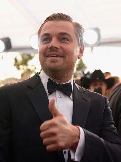 Leonardo DiCaprio, actor.