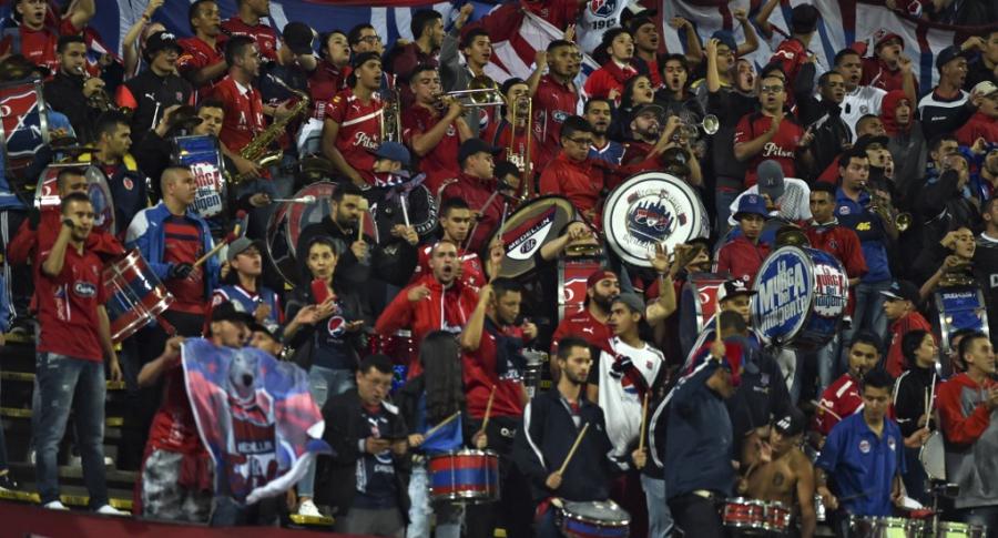 Hinchas de Independiente Medellín