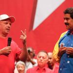 Hugo Carvajal y Nicolás Maduro
