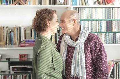 Patricia Tamayo y Jairo Camargo, actores.